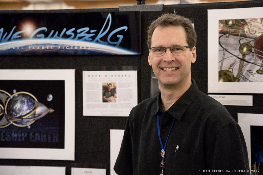 Dave Ginsberg at Spacefest X, 2019, photo credit: Dan Durda